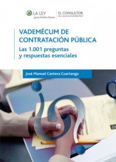 vademécum de contratación pública (ebook)-jose m cantera cuartango-9788470526176