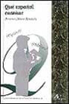 que español enseñar-francisco moreno fernandez-9788476354476
