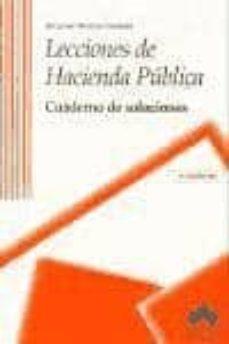 Costosdelaimpunidad.mx Lecciones De Hacienda Publica: Cuaderno De Soluciones (2ª Ed.) Image