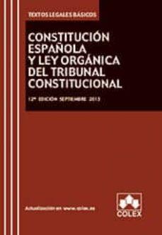 Cdaea.es Constitucion Española Y Tribunal Constitucional (12ª Ed.) Image