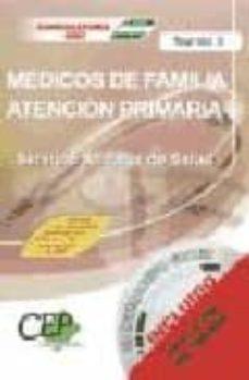 Vinisenzatrucco.it Test Vol. Ii. Oposiciones Medicos De Familia De Atencion Primaria . Servicio Andaluz De Salud (Sas) Image
