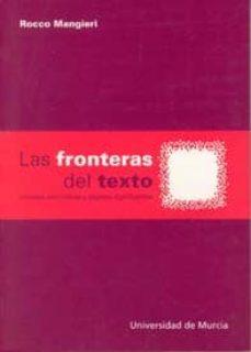 las fronteras del texto: miradas semioticas y objetos significant es-rocco mangieri-9788483712276