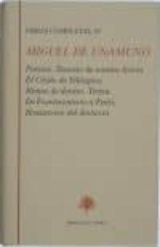 obras completas, iv: poesias; rosario de sonetos liricos; el cris to de velazquez; rimas de dentro; teresa; de fuerteventura a paris; romancero del destierro-miguel de unamuno-9788489794276