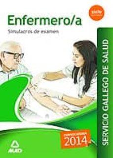 enfermero/a del servicio gallego de salud. simulacros de examen-9788490932476