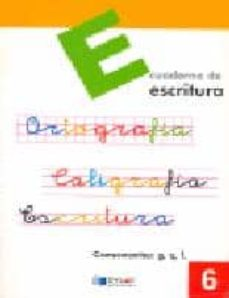 Permacultivo.es Escritura: Educacion Primaria: Cuaderno 6 Image