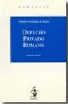 Valentifaineros20015.es Derecho Privado Romano (2ª Ed.) Image