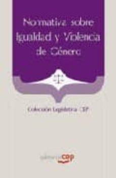 Inmaswan.es Normativa Sobre Igualdad Y Violencia De Genero. Coleccion Legisla Tiva Cep Image