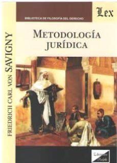 Descargar METODOLOGIA JURIDICA gratis pdf - leer online