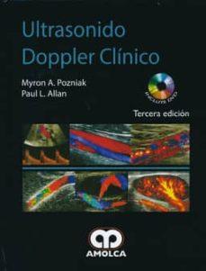 Descargar libros gratis en línea para kindle fire ULTRASONIDO DOPPLER CLINICO + DVD en español ePub 9789588816876 de MYRON A. POZNIAK, PAUL L. ALLAN