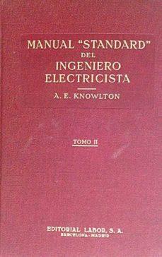 Inmaswan.es Manual Standard Del Ingeniero Electricista. Tomo Ii Image