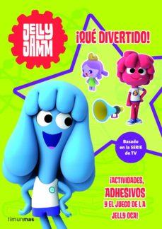 Javiercoterillo.es Actividades Jelly Jamm: ¡Que Divertido! (Incluye Adhesivos Con Pu Rpurina Y Un Tablero Para Jugar) Image
