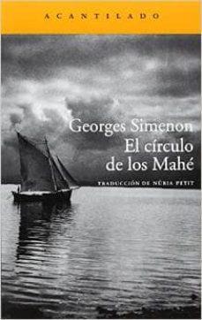 Amazon descarga libros iphone EL CIRCULO DE LOS MAHE  de GEORGES SIMENON
