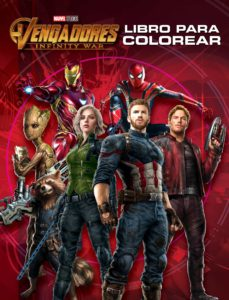 Encuentroelemadrid.es Vengadores. Infinity War. Libro Para Colorear Image