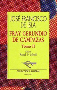 Chapultepecuno.mx Fray Gerundio De Campazas (T. 2) (3ª Ed.) Image