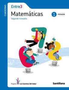 Emprende2020.es Cuaderno Matematicas 1º Ep 2º Trim. Global (Entre 3) Image