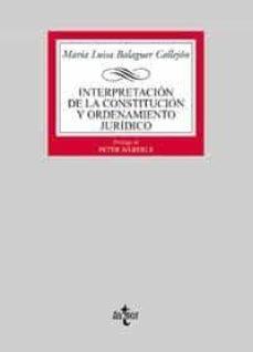 Followusmedia.es Interpretacion De La Constitucion Y Ordenamiento Juridico Image