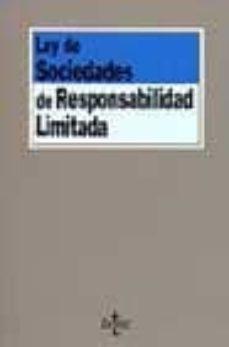 Costosdelaimpunidad.mx Ley De Sociedades De Responsabilidad Limitada (2ª Ed.) Image
