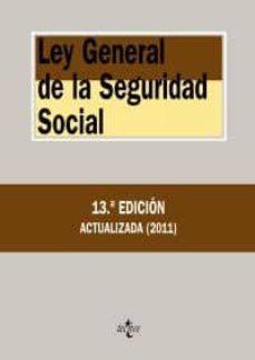Geekmag.es Ley General De La Seguridad Social (13ª Ed.) Image
