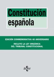 constitucion española (edicion conmemorativa 40 aniversario)-9788430974986