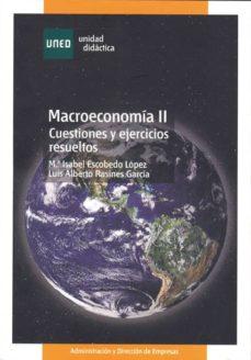 Vinisenzatrucco.it Macroeconomia Ii: Cuestiones Y Ejercicios Resueltos Image