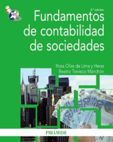 Encuentroelemadrid.es Fundamentos De Contabilidad De Sociedades (2ª Ed.) Image
