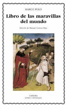 libro de las maravillas del mundo-marco polo-9788437624686