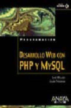 Lofficielhommes.es Desarrollo Web Con Php Y Mysql: Php 5 Y Mysql 4.1 Y 5 (Incluye Cd -Rom) Image