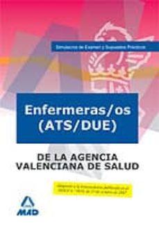 Bressoamisuradi.it Enfermeras/os (Ats/due) De La Agencia Valenciana De Salud. Simula Cros De Examen Y Supuestos Practicos Image