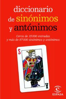 Diccionario de sin/ónimos y ant/ónimos