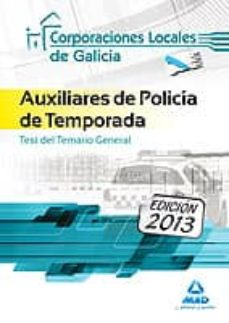 auxiliares de policia de temporada de corporaciones locales de ga licia. test-9788467691986