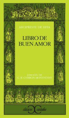 libro de buen amor (2ª ed.)-arcipreste de hita-9788470395086