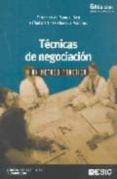 Trailab.it Tecnicas De Negociacion. Un Metodo Practico(6ª Ed.) Image