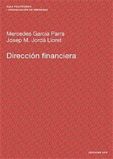 direccion financiera-mercedes garcia-9788483017586