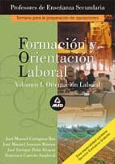 """Chapultepecuno.mx Formacion Y Orientacion Laboral (Fol): Temario De La Prueba &Quot;a"""": Temario &Quot;a"""" De Oposiciones Al Cuerpo De Profesores De Enseñanza Secundaria Image"""