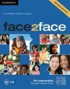 Libera descargas de libros electrónicos. FACE2FACE FOR SPANISH SPEAKERS STUDENTS BOOK WITH DVD-ROM AND HAN DBOOK WITH AUDIO CD (2ND EDITION) (LEVEL PRE-INTERMEDIATE)