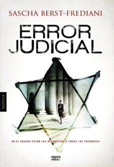 Descarga gratuita de libros pdf de torrents. ERROR JUDICIAL 9788490671986