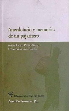 Concursopiedraspreciosas.es Anecdotario Y Memorias De Un Pajaritero Image