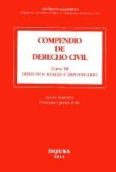 Debatecd.mx Compendio De Derecho Civil, Tomo Iii. Derechos Reales E Hipotecar Io (6º Ed.) Image