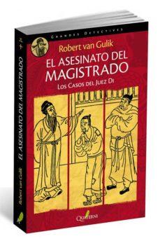 Foro de descarga de libros electrónicos deutsch EL ASESINATO DEL MAGISTRADO: LOS CASOS DEL JUEZ DI de ROBERT HANS VAN GULIK MOBI (Spanish Edition) 9788494180286