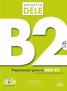 Descargar Ebook para celulares gratis OBJETIVO DELE B2 in Spanish de TERESA BORDON MARTINEZ