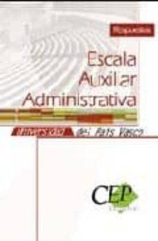 Inmaswan.es Escala Auxiliar Administrativa Universidad Del Pais Vasco: Respue Stas Image