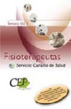 Bressoamisuradi.it Oposiciones Fisioterapeutas Del Servicio Canario De Salud. Temari O. Vol. I Image