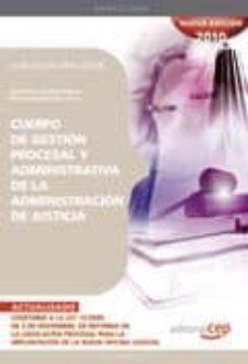 Inmaswan.es Cuerpo De Gestion Procesal Y Administrativa Administracion De Jus Ticia. Supuestos Practicos Image