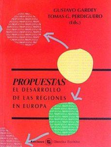 Eldeportedealbacete.es Propuestas. El Desarrollo De Las Regiones En Europa Image
