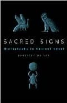 sacred signs: hieroglyphs in ancient egypt-penelope wilson-9780192802996