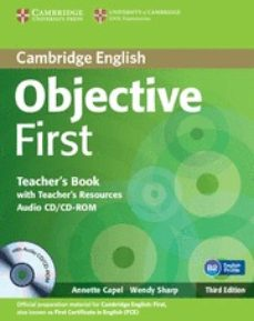 Debatecd.mx Objective First Certificate : Teacher´s Book Image