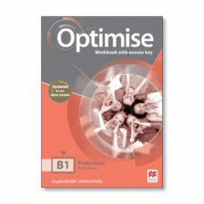 Descargar ebook gratis OPTIMISE B1 WORKBOOK WITH KEY 2019 (Literatura española) de   9781380032096