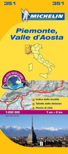 """piamonte - valle d aosta (mapas """"local"""" michelin, ref. 351)-9782067126596"""