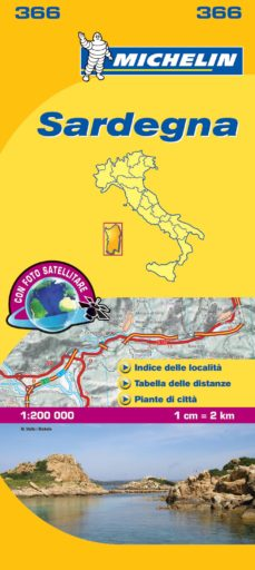 "sardegna (mapas ""local"" michelin, ref. 366)-9782067127296"