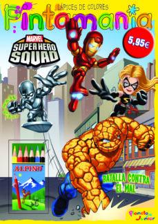 Titantitan.mx Super Hero Squad. Pintamania Lapices De Colores: Batalla Contra E L Mal Image